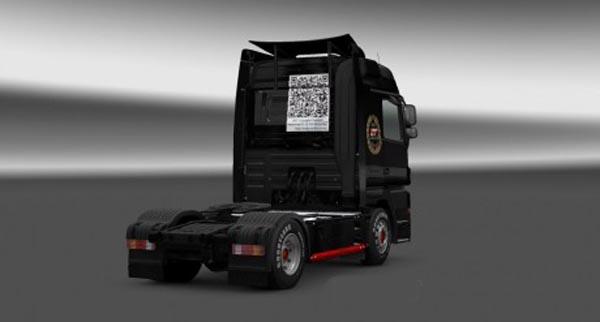 Mercedes Actros HTF Logistics Skin