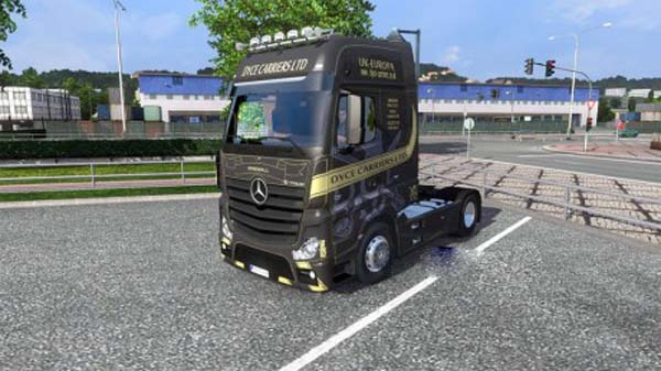Mercedes Actros MP4 DYCE CARRIER LTD