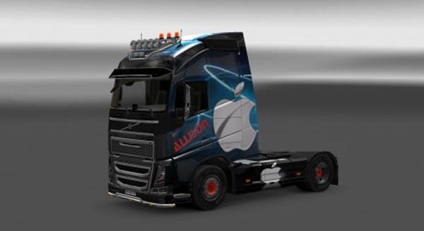 New Volvo FH skin
