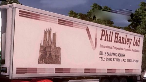 Phil Hanley Ltd trailer