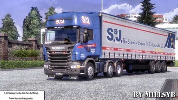 S And J Haulage Combo Pack