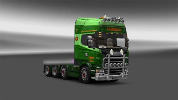 S.J.Bargh skin for Scania R 2009