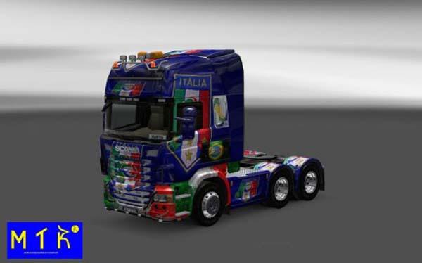 Scania Italy Copa 2014 Skin