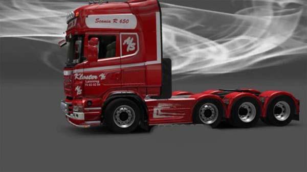 Scania Kloster AS Denmark Skin