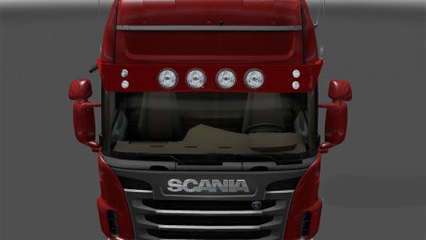 Scania Light Sun Visor