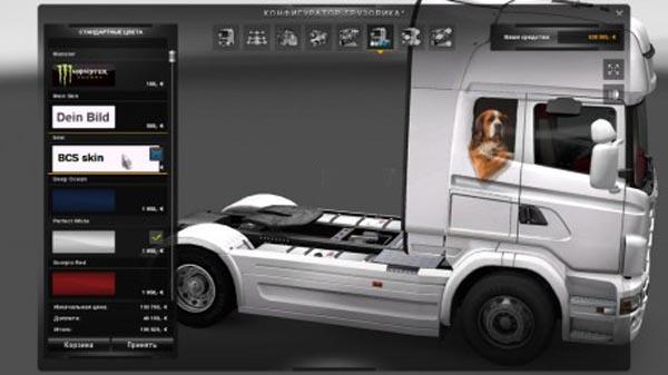 Scania R 2009 Dog Skin