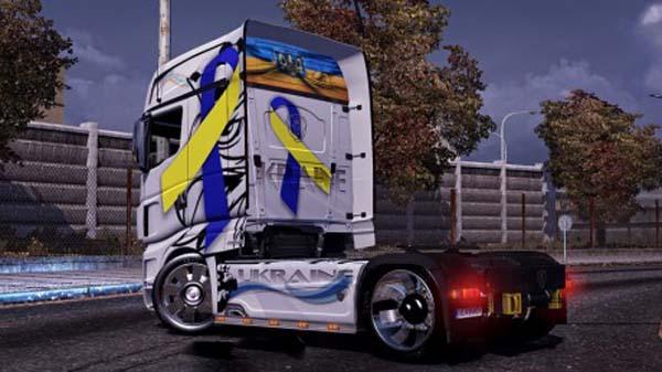 Scania R700 Ukraine