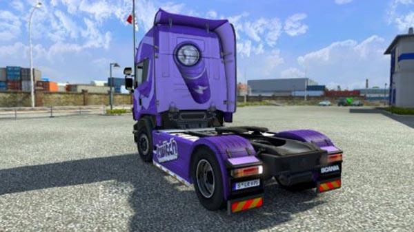 Scania Topline Twitch.tv skin