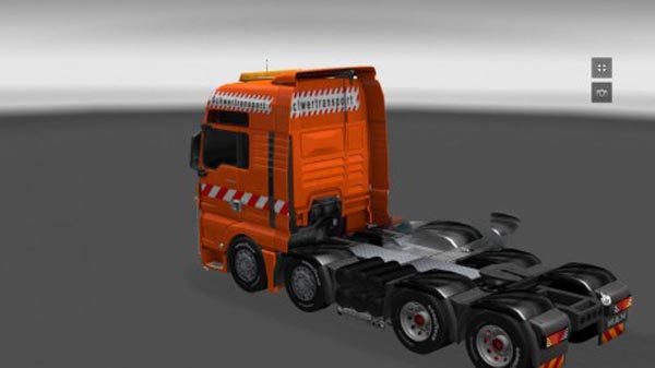Schwerlasttransport MAN TGX