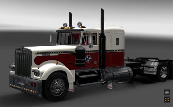 Skin Kenworth W900A – Dixie TN