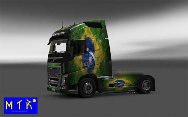 Skin Volvo FH2012 Brasil 2014
