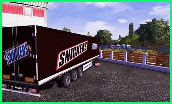 Snickers trailer skin
