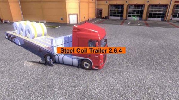 Steel Coil trailer