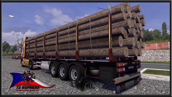 TZ Log Trailer