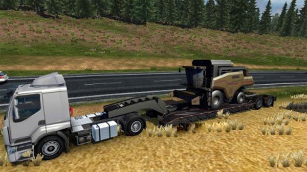 Trailer with Combine