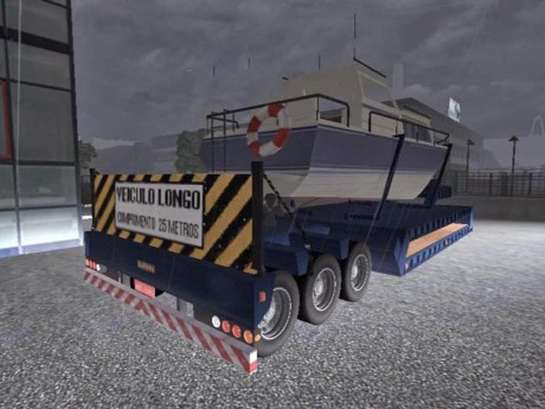 Trailer with Ship