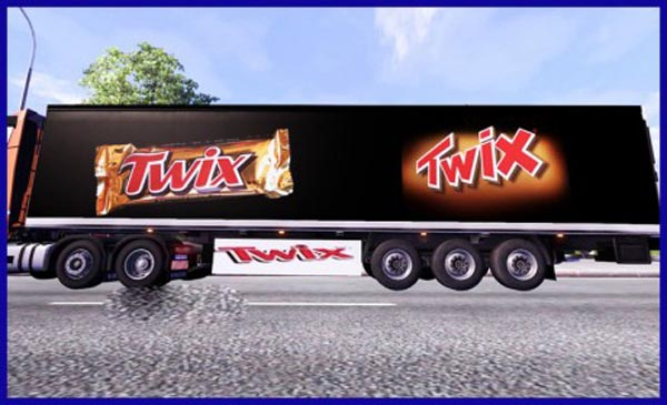 Twix trailer skin