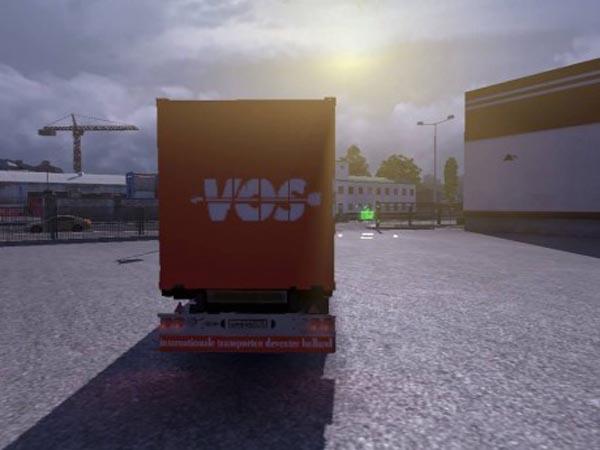 VOS container trailer