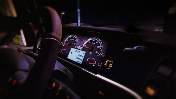 Volvo FH 2009 Dashboard edit