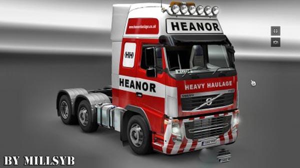 Volvo FH 2009 Heanor Heavy Haulage Skin