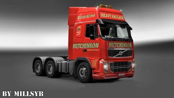 Volvo FH 2009 Hutchinson Heavy Haulage Skin