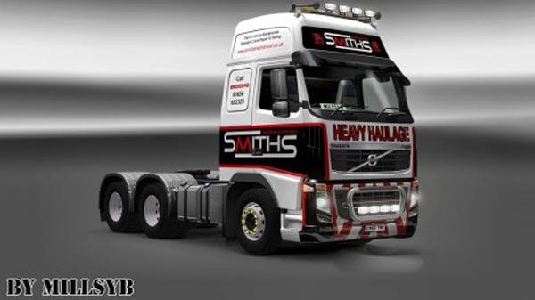 Volvo FH 2009 Smiths Heavy Haulage Skin