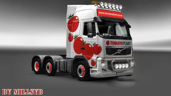Volvo FH 2009 Tomato Skin