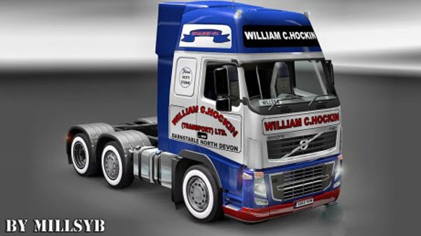 Volvo FH 2009 William C Hockin Skin