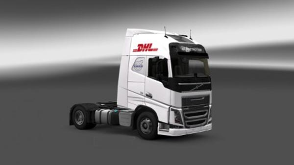 <!--more-->  DHL Skin for Volvo FH 2012 Truck  <strong>Credits:</strong>   THW-Jugend NMS