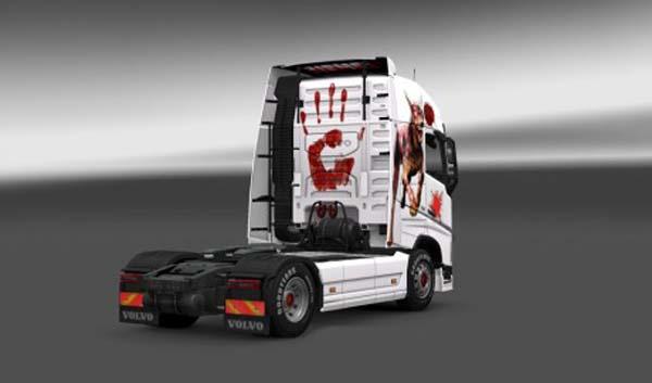 Volvo FH 2012 Zombie Skin