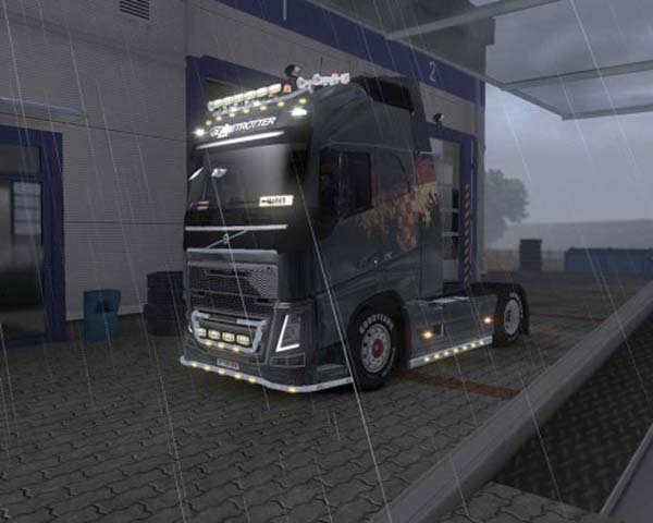 Volvo FH 2013 Scattered Croatian Flag Skin