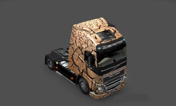 Volvo FH 2013 Under Earth Skin