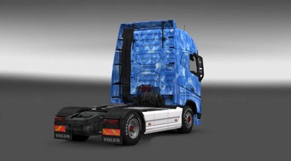 Volvo FH 2013 Weather Effect Skin