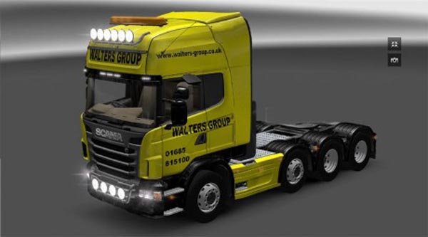 Walters Group Scania Topline