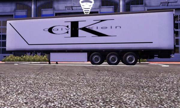 Calvin Klein trailer skin