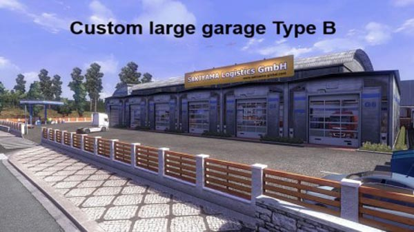Custom Large Garage Type A B