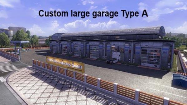 Custom Large Garage Type A B