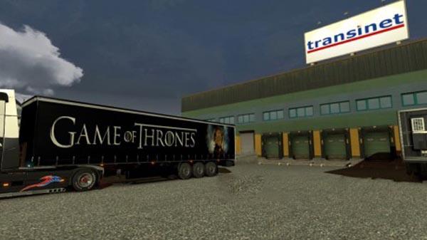 Game of Thrones Trailer Skin