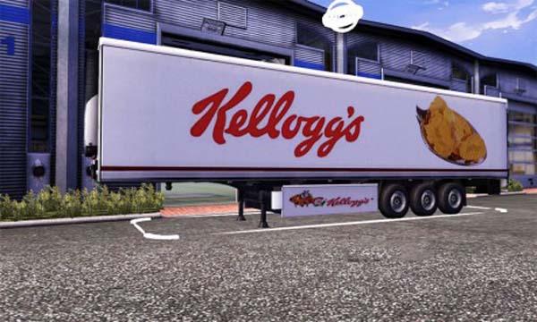 Kelloggs trailer skin