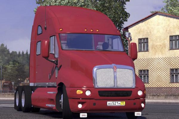 Kenworth T2000 + Interior