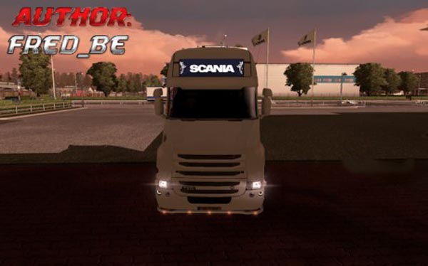 Light Box For Scania T