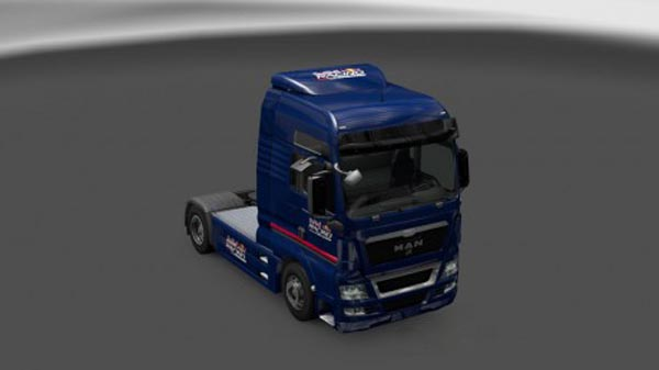 MAN Red Bull Racing Australia Skin