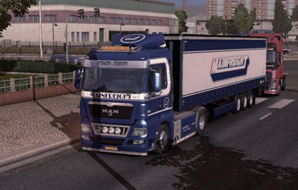 Mainfreight SKIN – MAN & Trailer