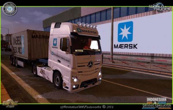 Mercedes Maersk Skin
