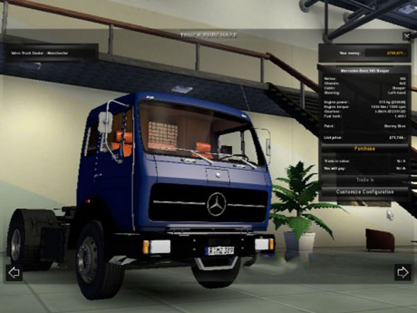 Mercedes NG1631