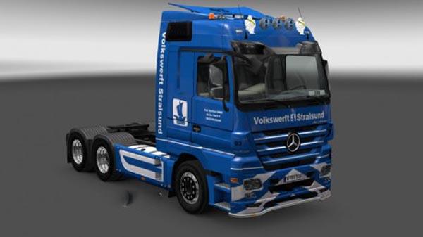 Mercedes Volkswerft Stralsund Skin