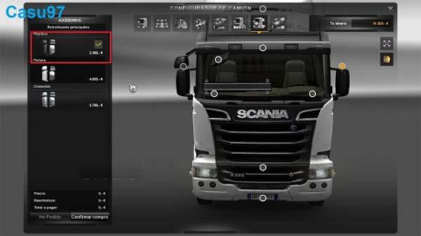 New Mirror Scania Streamline