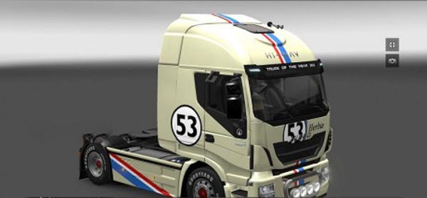 Otelo Herbie skin for Iveco Hi-Way