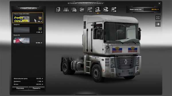 Renault Magnum Russian skin