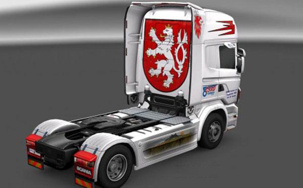 Scania CSAD Turnov Skin